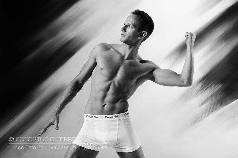 Fotoshooting Unterwäsche Männer