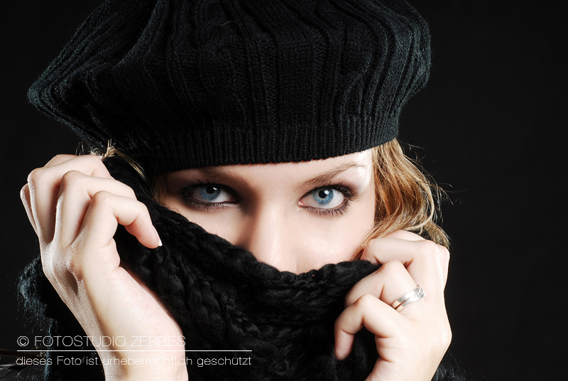 Portrait Fotoshooting mit Make Up