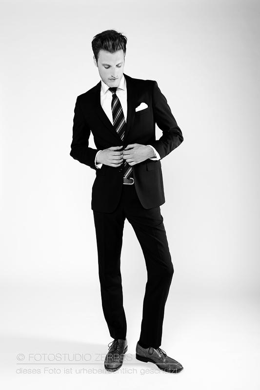 Portrait und People Fotografie von Mann mit Anzug