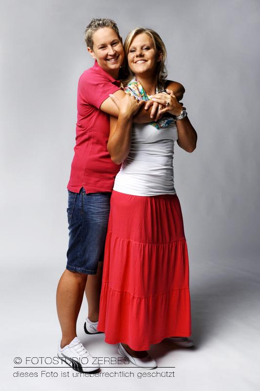 Paar-Fotoshooting Frauen, Fotos für Paare und Bestfriends