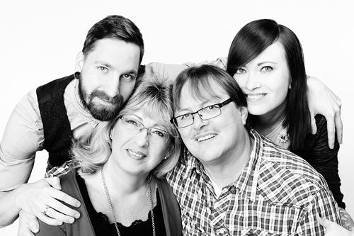 Familienfotoshooting Fotostudio-Zerbes-Köln
