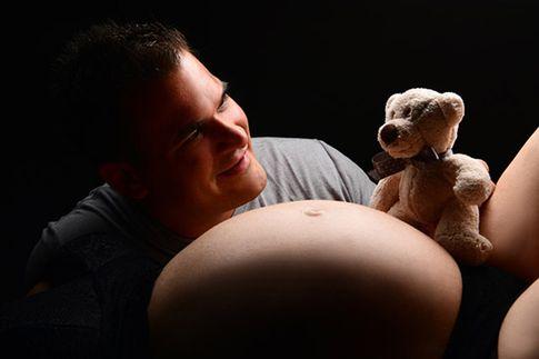 Bianca war beim Babybauch-Fotoshooting