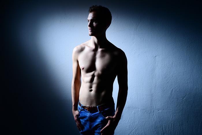 Mirkos erstes professionelles Fotoshooting