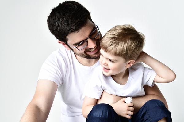 Familienshooting mit zwei Kindern