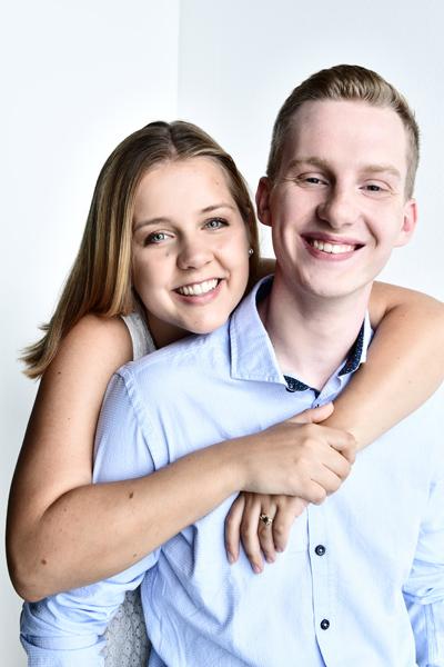 Fotoshooting für Paare im Fotostudio